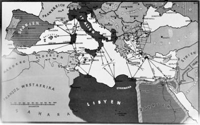 Deutsches Reich Karte 1943.Bundesarchiv Internet Militarische Karten