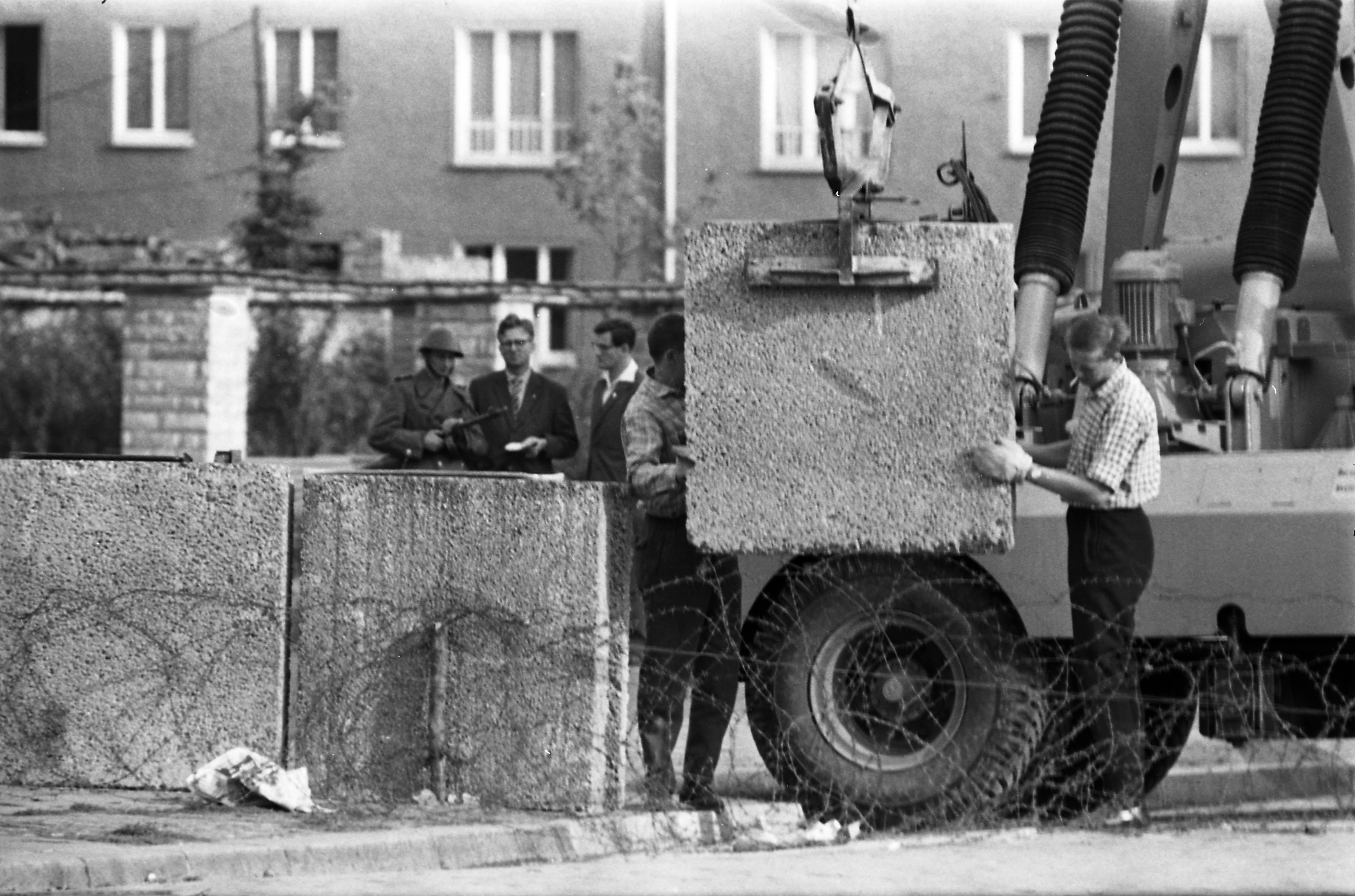 Bau Der Berliner Mauer Karte.Bundesarchiv Internet Thementag Zum Bau Der Berliner Mauer Am 13