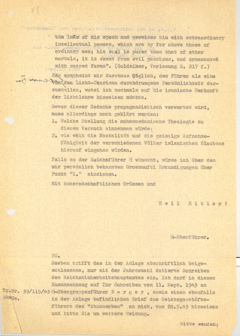 Bundesarchiv Internet - Das Ahnenerbe der SS - Himmlers \