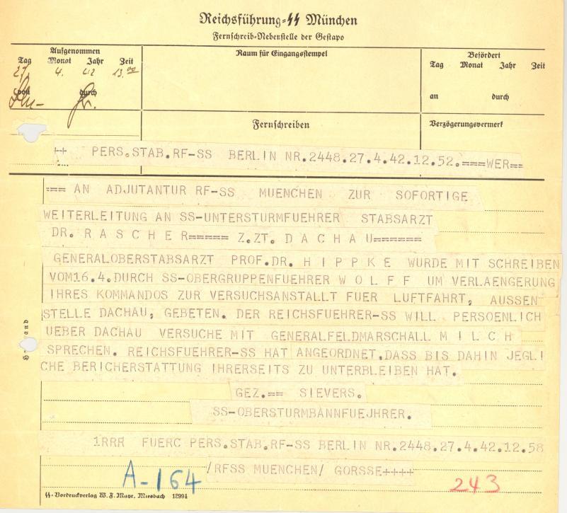 Bundesarchiv Internet Das Ahnenerbe Der Ss Himmlers
