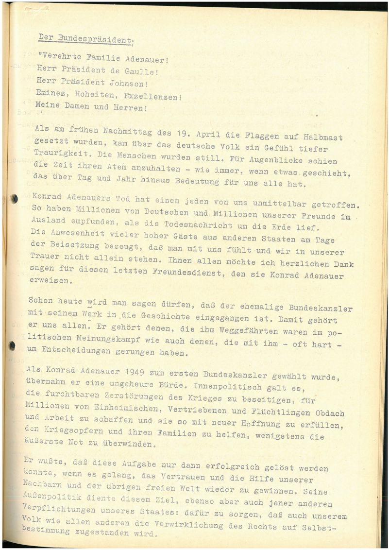 Bundesarchiv Internet - Die Ära Adenauer