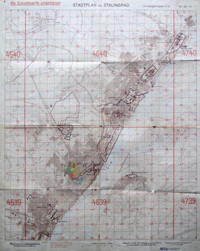Stalingrad Karte Europa.Bundesarchiv Internet Stalingrad Teil 1