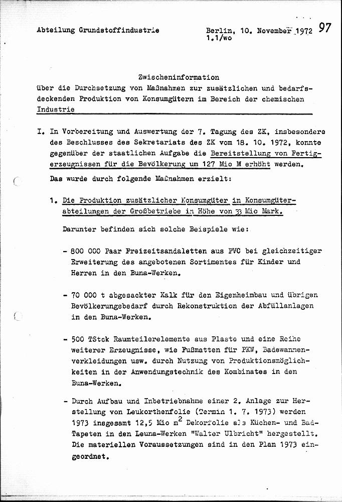 einschtzung der warenproduktion - Konsumguter Beispiele
